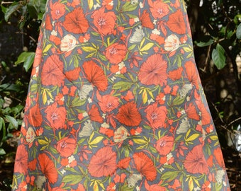 Poppy Fields A Line skirt size  12/14