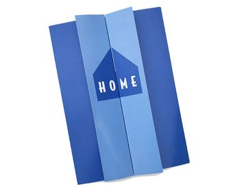 HOME Reveal Card, Love, Anniversary, New Home, Homecoming, Greeting