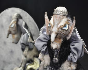 Koshchey the Deathless, interior doll, Кощей, интерьерная кукла