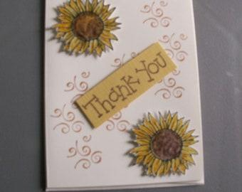 Decorative Thank You Card