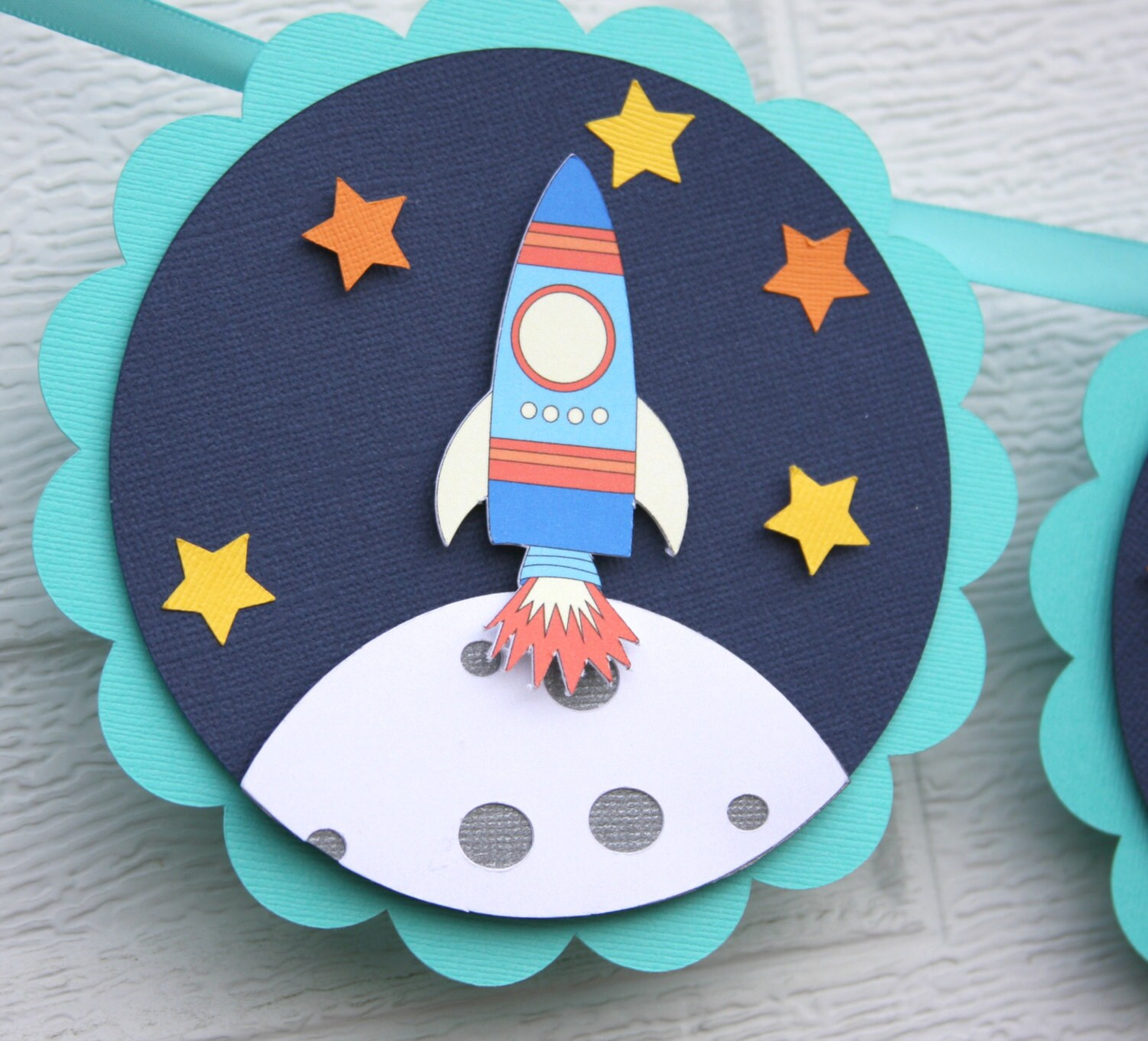 Rocket Childrens Party Invitations By seasons greetings in spanish
