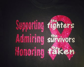 Supporting the Fighters, Admiring the Survivors, Honoring the Taken