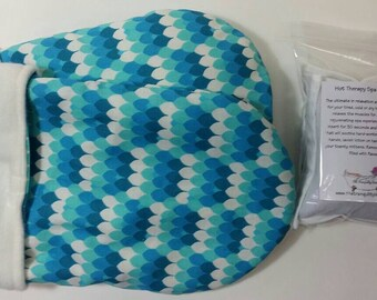 Hot Therapy Spa Mitten Set Mermaid Dragon Scales