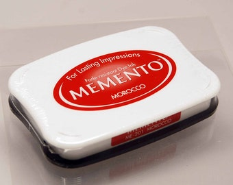 SALE Memento Dye Ink Stamp Pad -- Morocco -- NEW Color Great for Copic Markers