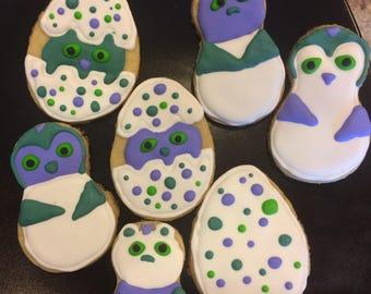 Hatchimal Sugar Cookies