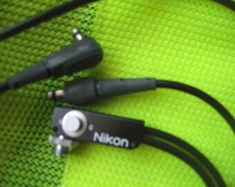 Nikon Double Cable vintage 90s  rare