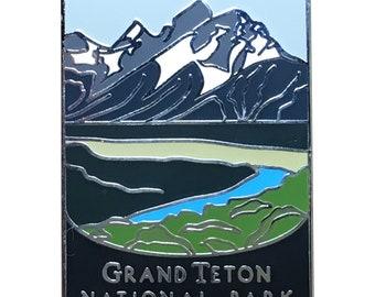 Grand Teton National Park Pin - Teton Range, Wyoming
