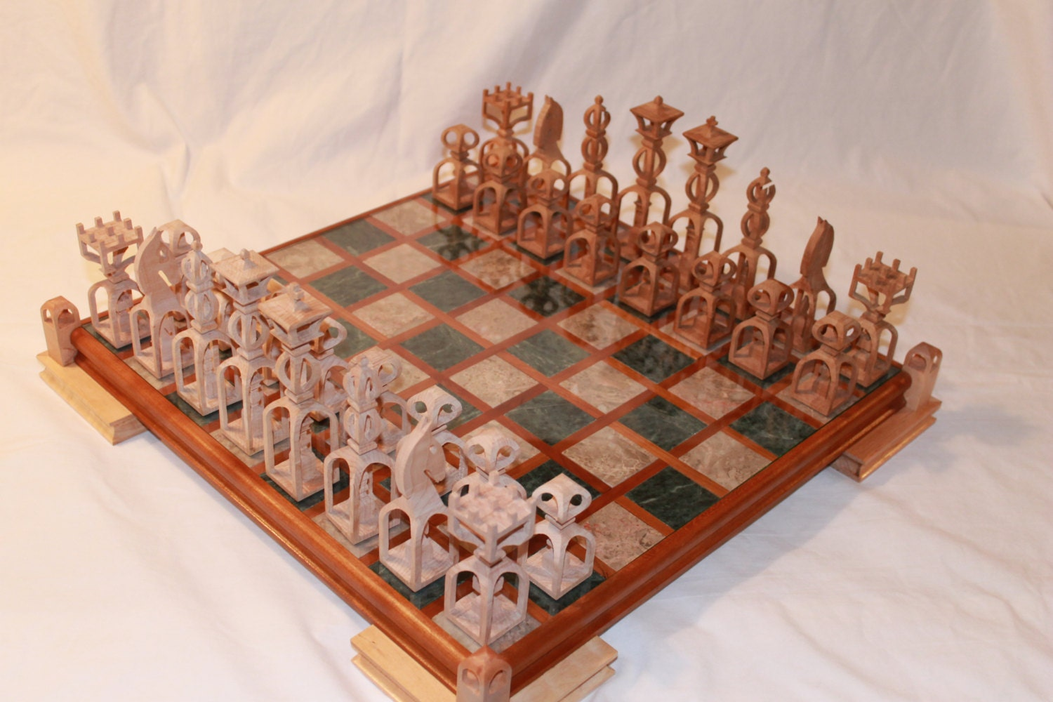 projects ideas metal chess pieces.  zoom Scroll Saw Pattern Advanced Chess Set