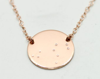 Minimalist jewelry timeless and simple gold by seaandcake on etsy rose gold constellation necklace rose gold necklace rose gold jewelry constellation jewelry aloadofball Gallery