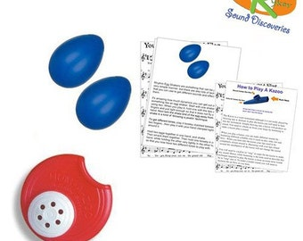 Mommy & Me Learn to Play Educational Music Pack - Rhythm Shakers/Humazoo (A Tisket A Tasket) #RSDMMSRH14
