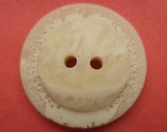 10 buttons light beige 23 mm (343) button