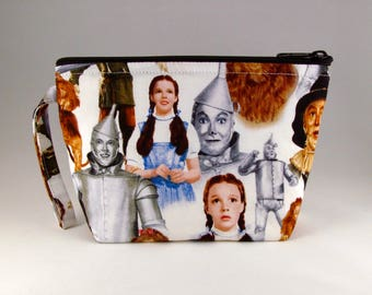 Wizard of Oz Makeup Bag - Accessory - Cosmetic Bag - Pouch - Toiletry Bag - Gift