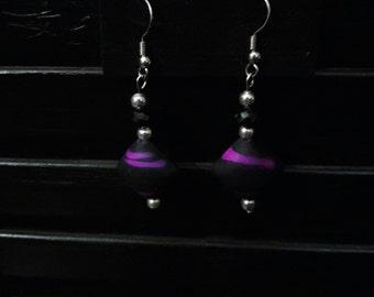 Lovely Purple  Earrings