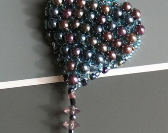 Pearl Heart Pendant by DENISE SLOAN