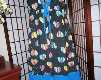 Women's Sundress - Tie Back