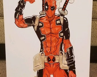 Deadpool Metal Print