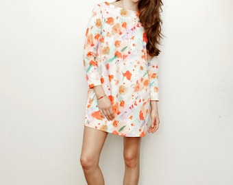 The Exploding Poppies Shift Dress