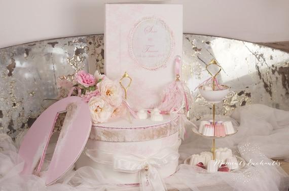 Mariage urne dentelle votre coffret boite à dons dentelle boite à souvenirs personnalisée