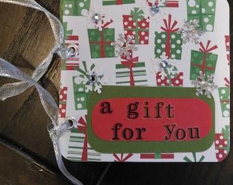 Christmas Gift Card Holder, WK129