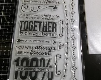 Together Forever Stamp  by Technique Tuesday