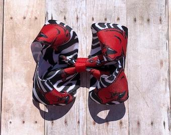 Razorback boutique bow