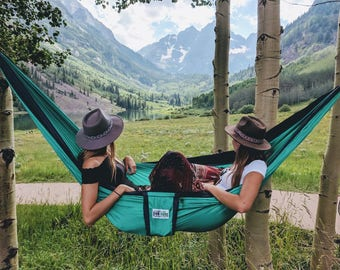 Graduation Gift - Double Hammock - The Best Ultra Light Camping Hammock, Hammock Camping, Music Festival, Hiking