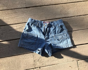 Vintage Old Navy Blue Jeans High Waisted Shorts Size 4
