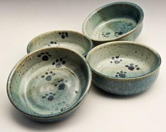 Ceramic Small Pet Bowl, Pet Feeding Dish, Stoneware Cat Bowl, Small Dog Food Bowl, Water Dish, Pet Dish, Rustic, Pottery Bowl, Pet Gift