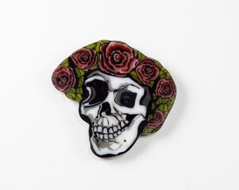 Skull and Roses Coin