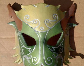Forest Dragon Mask