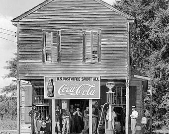 Crossroads Store Sprott Alabama 1930s Photo