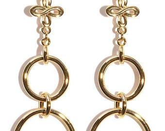The It Girl Multi Hoop earrings Sienna Miller style