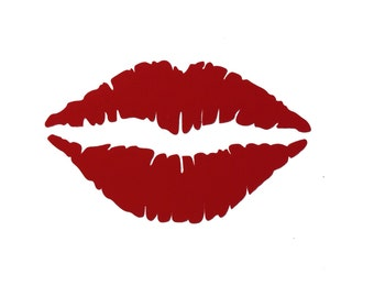 Cool Lips Vinyl Decal Set of 20