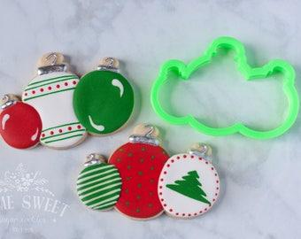 Ornaments VIP Cookie Cutter. Designed by @homesweetsugarcookies