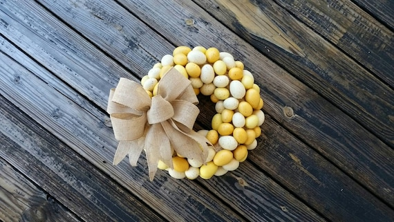 Easter Wreath, Rustic Wreath, Egg Wreath, Easter Egg Wreath