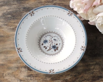 Royal Doulton Old Colony Rim Soup Bowl, English Translucent China Replacement China