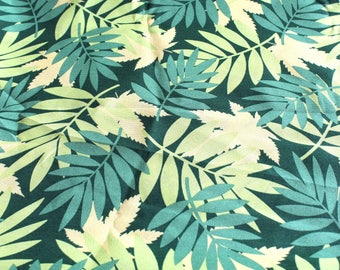 Coupon fabric upholstery tropical 68 x 50 cm