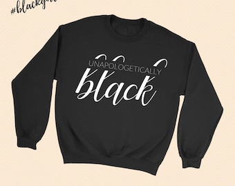 Unapologetically Black - Melanin Magic -  Crewneck Sweatshirt