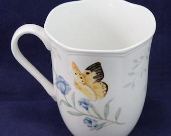 Lenox Butterfly Meadow Monarch 12oz Mug Coffee/Tea/Cocoa