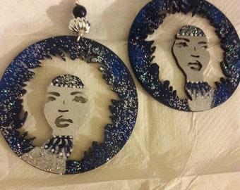 Evening Star Queen Earrings
