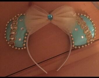 Jasmine Inspired Disney Ears Mine Vacation Land World Headband Handmade