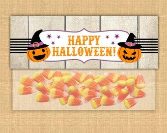HALLOWEEN SALE, Halloween Favor Bag Toppers, Party Printables, Halloween Party Bag Toppers, Halloween Candy Bag Toppers, Halloween Party
