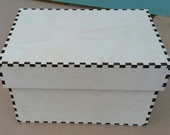 Flat Packed Plywood Box