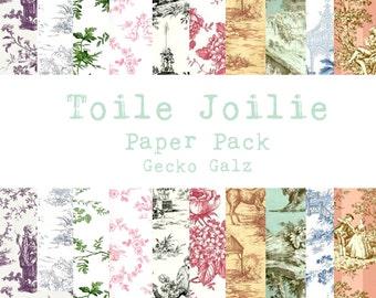 Toile Joilie Digital Paper Pack