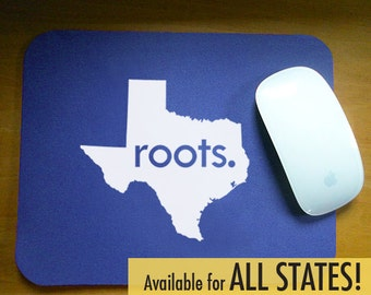 All States 'Roots' Computer Mouse Pad