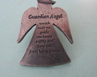 Vintage Treasures & Trinkets Guardian Angel Clip Free Shipping