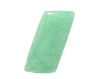 Tremolite Chrome Green Semiprecious Gem Stone,  Polished Hand Crafted Gemstone Cabochon from New York, USA Jewel DIY Craft, Jade-like