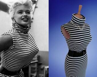 Jayne Mansfield stripe dress or top