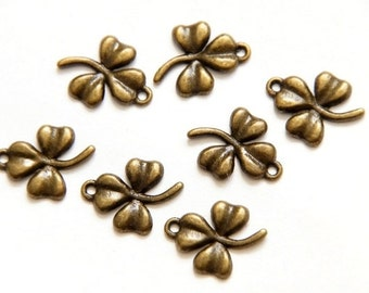 10 pieces of metal pendant sheets/Bronze