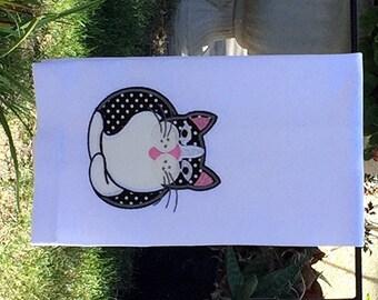 Tuxedo Cat Kitchen Towel